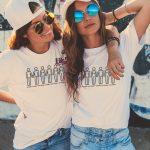 T-shirt Un papa + un papa + une maman + un papa + une maman + une maman
