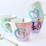 Les mugs Alphabet Yvonne Ellen