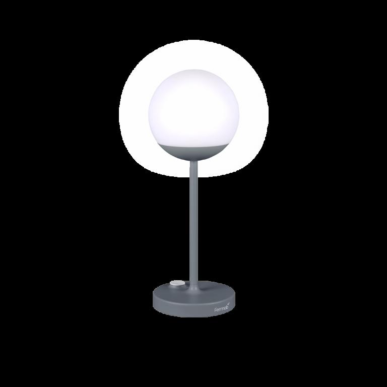 Lampe MOOON gris orage