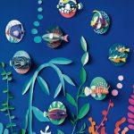 Petits poissons 3D Studio Roof